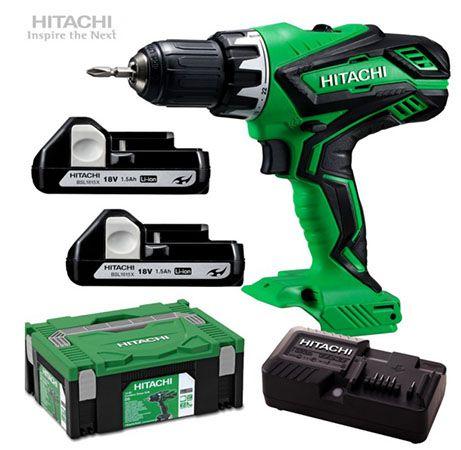 Hitachi DS 18DJL 18V Akku Bohrschrauber für 107€ (statt 140€)