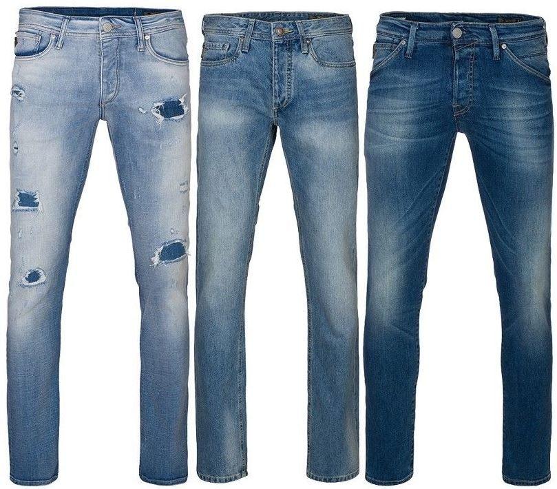 JACK & JONES Clark u. Glenn Herren Jeans (schmale Größen) für je 12,95€