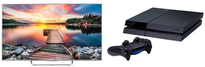 Playstation 4 + 65 Zoll Sony Bravia KDL 65W857C für 1.599€ (statt 1.891€)   KNALLER!