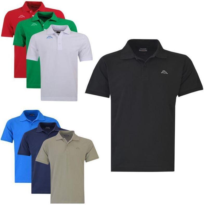 Kappa Polo shirts Kappa Scotty   Herren kurzarm Poloshirt bis 4XL für je 12,95€