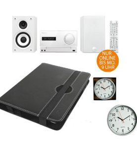 PIONEER X CM32BTD   Kompaktanlage für 199€   Tablet Schutzhüllen ab 1,99€ bei den SATURN Online Offers