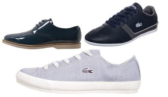 Lacoste Damen und Herren Schuhe mit bis zu 75% Rabatt bis Mitternacht!
