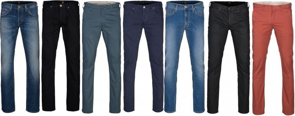 Lee Jeans Angebot Lee Clubwear Denim Herren Jeans für 23,99€