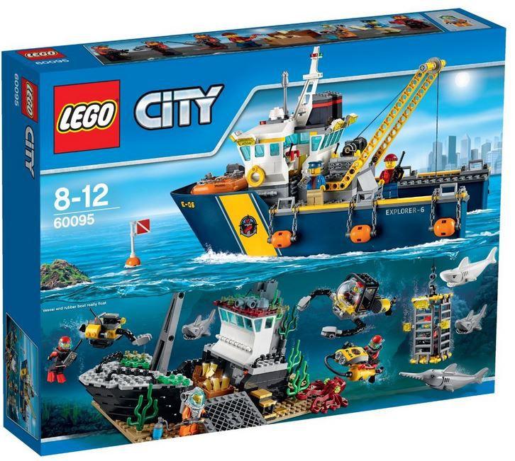 Lego City 60095 LEGO City   60095 Tiefsee Expeditionsschiff für 52,93€ (statt 70€)