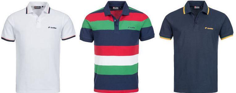 LOTTO   Herren Polo Shirts von S bis XL für je 12,99€
