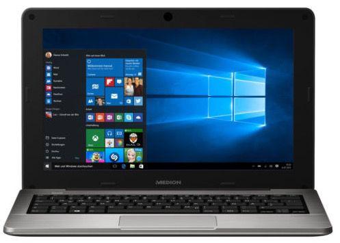 Medion Akoya S2218   11,6 Zoll Notebook mit Windows 10 (B Ware) für 144€