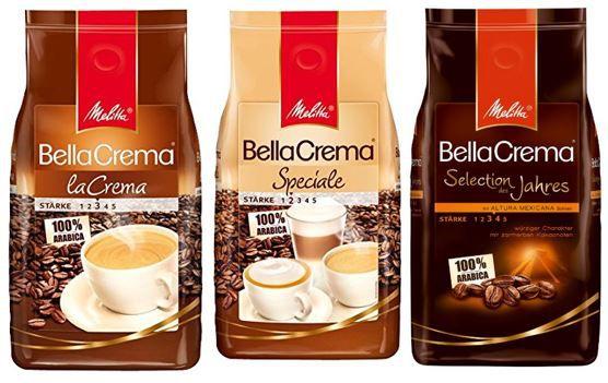 Melitta Kaffeebohnen   1er Pack (1 x 1 kg) ab 8,49€