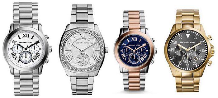 Michael Kors Uhren2 Michael Kors   Damen und Herren Fashion Uhren für je 139,90€ (statt 168€)