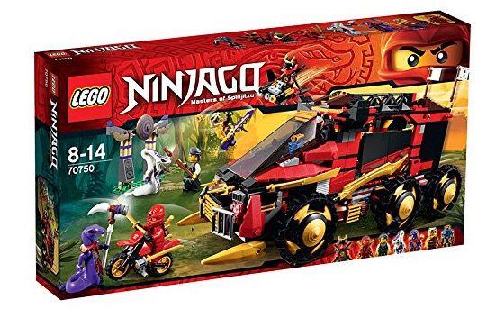 Lego Ninjago 70750 Mobile Ninja Basis für 66,94€(statt 90€)