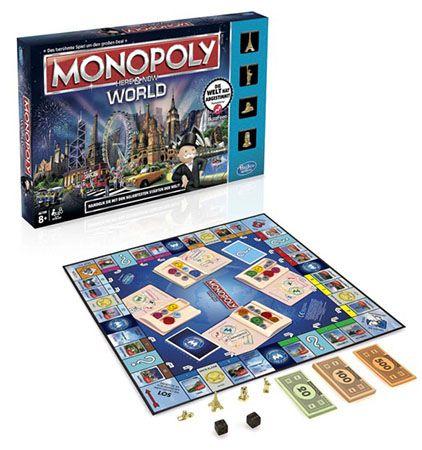Hasbro Monopoly World für 15,94€ (statt 24€)