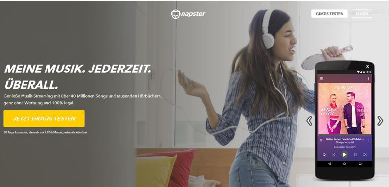 Napster free 30 Tage Napster Music Flatrate kostenlos testen – Kündigung per Mausklick