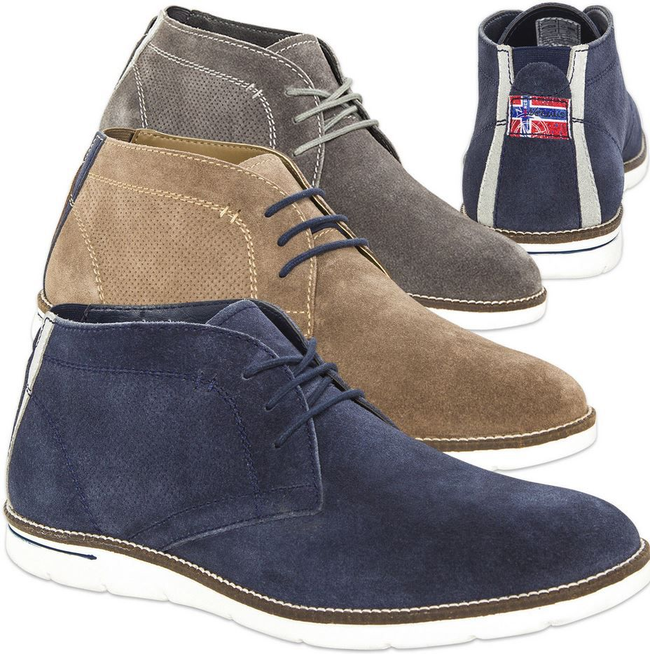 Nebulus Plenty   Herren Leder Schuhe für 39,95€