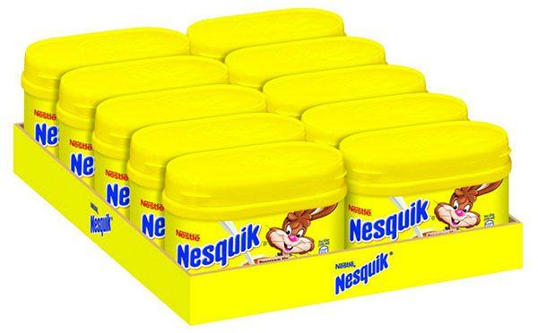 10er Pack Nesquik mit je 250g ab 9,11€