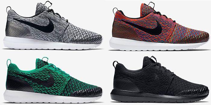 Nike Roshe One NM Flyknit SE Sneaker für 62,39€ (statt 74€)