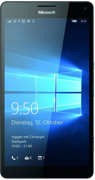 Microsoft Lumia 950 + 950 XL   Windows 10 Phone für je 333€