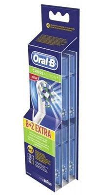 Oral B CrossAction 10er Pack Oral B CrossAction Aufsteckbürsten für 23,95€ (statt 28€)
