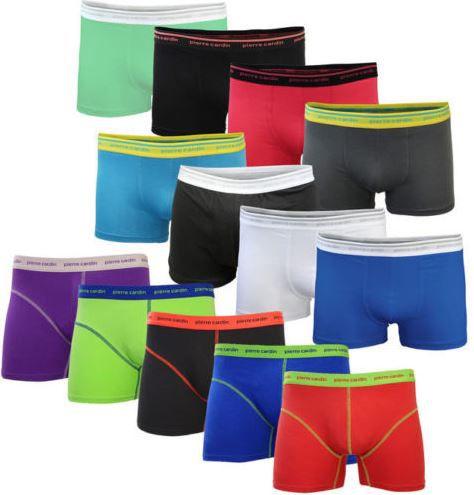 PC Boxershorts Pierre Cardin Herren Boxershort   8er Set viele Farben für 24,99€