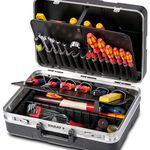Parat Werkzeugkoffer mit Einsteckfächern für 69,99€ (statt 80€)
