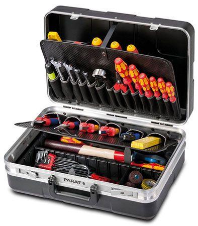 Parat Werkzeugkoffer Parat Werkzeugkoffer mit Einsteckfächern für 79,99€ (statt 89€)