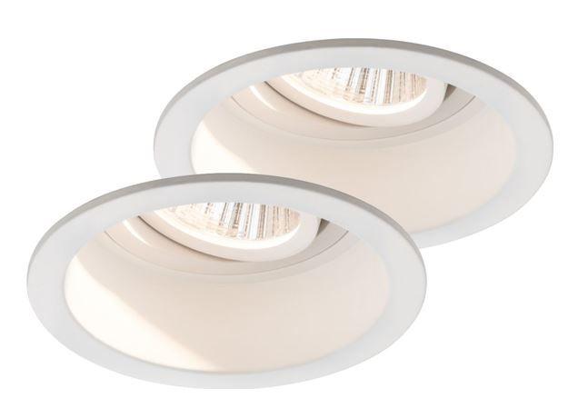 Paulman Premium Daz   2er Set LED 19W LED Einbauleuchten für 29,95€