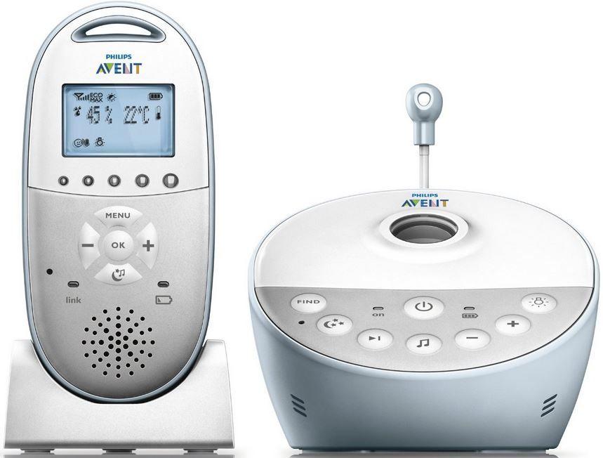 Philips Avent SCD580   Babyphone Sternenhimmel Projektor für 99,99€ + 10€ Gutschein