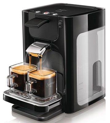 Philips HD 786461 Philips HD 7864/61 Senseo Quadrante Kaffeeautomat für 75,43€ (statt 103€)