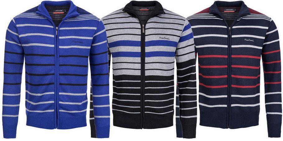 Pierre Cardin Sweatjacke Pierre Cardin Herren Sweatjacke mit Zipper für je 14,99€