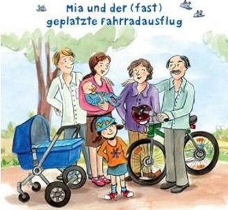 Gratis Pixiebuch Mia und der (fast) geplatzte Fahrradausflug