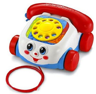 Mattel Fisher Price Plappertelefon für 5,77€ (statt 13€)   Plus Produkt
