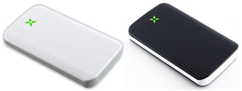 Powerbank mit 10.000mAh und 2 USB Schnittstellen für 17,90€