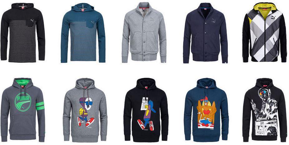 Puma Swaetshirt PUMA   Herren Hoodies und Sweatshirts viele Motive für je 21,99€