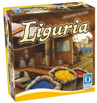 Queen Games Liguria Brettspiel ab 12,56€ (statt 35€)