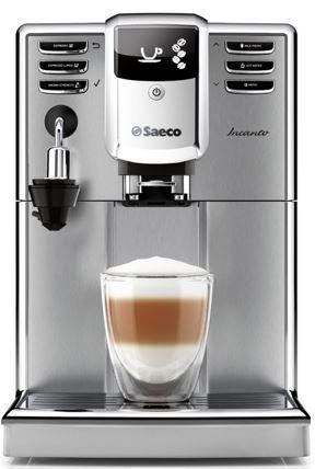 Saeco HD8914/01 Incanto   Kaffeevollautomat mit AquaClean + Milchaufschäumer für 399€