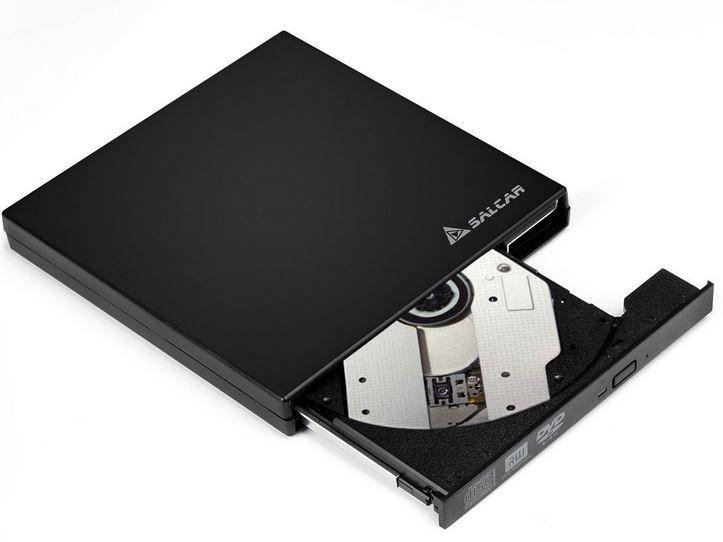 Salcar   externer USB CD/DVD Brenner (SuperDrive) ab 18,69€