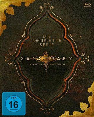 Sanctuary   Die komplette Serie auf Blu ray für 42,97€ (statt 70€)