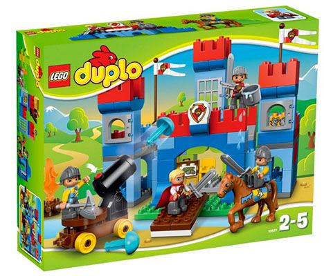 Schlossburg Lego Duplo Große Schlossburg ab 22,93€ (statt 41€)