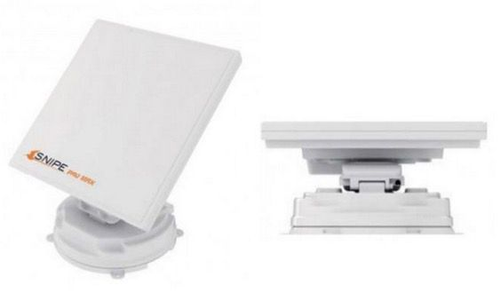 Selfsat Snipe Pro Max Twin für 1.003,99€ (statt 1.304€)   vollautomatische Satelliten Antenne