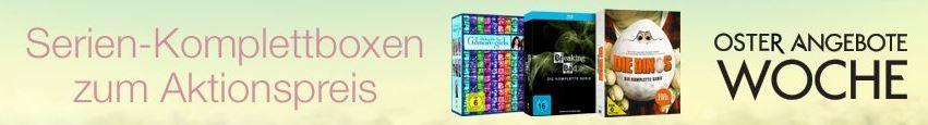 Serien Angebote TV Serien Komplettboxen zum Aktionspreis + 7 Tage Tiefpreise