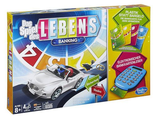 Hasbro Spiel des Lebens Banking ab 23,99€(statt 35€)