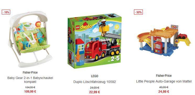 Spielwaren Sale 20% extra Rabatt auf ausgewählte Spielwaren in den Galeria Kaufhof Mondschein Angeboten