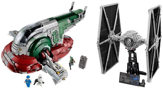 Lego Star Wars   Tie Fighter oder Slave I ab 147,11 statt 195€