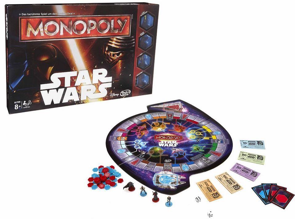 Star wars Hasbro   Monopoly Star Wars ab 23,99€