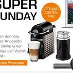 KRUPS XN301T Nespresso Pixie mit Aeroccino + 100Kapseln für 129€ und weitere Saturn Super Sunday Deals