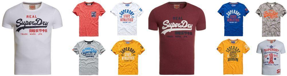 Superdry Track Field   Herren T Shirts für je 17,90€