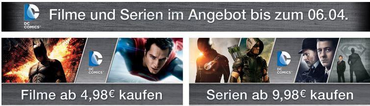 Superhelden DC Comics & Superhelden Filme ab 4.98€ und Serien ab 9.98€