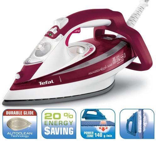 Tefal FV 5340 Tefal FV 5340 Aquaspeed Dampfbügeleisen für 33,95€ (statt 45€)