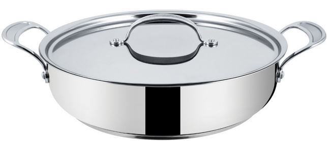 Tefal Jamie Oliver Professional Inox Induction Wave Servierpfanne für 39,99€ (statt 53€)