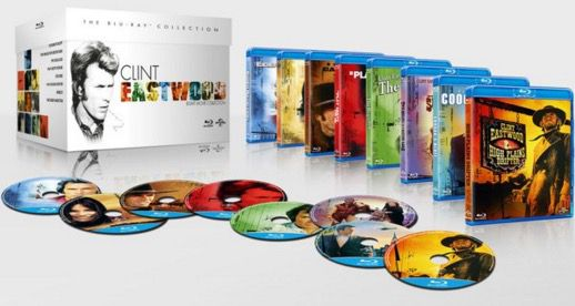 The Clint Eastwood Blu ray The Clint Eastwood Blu ray Boxset für 13,90€
