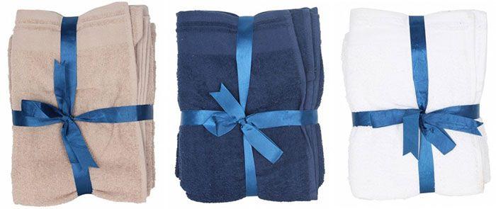 Tom Tailor Handtuchsets 4 teilig für je 17,90€ (statt 40€)