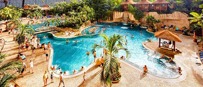 Tropical Island Tropical Islands + Übernachtung 4* Holiday Inn Berlin Airport ab 79€ p.P.